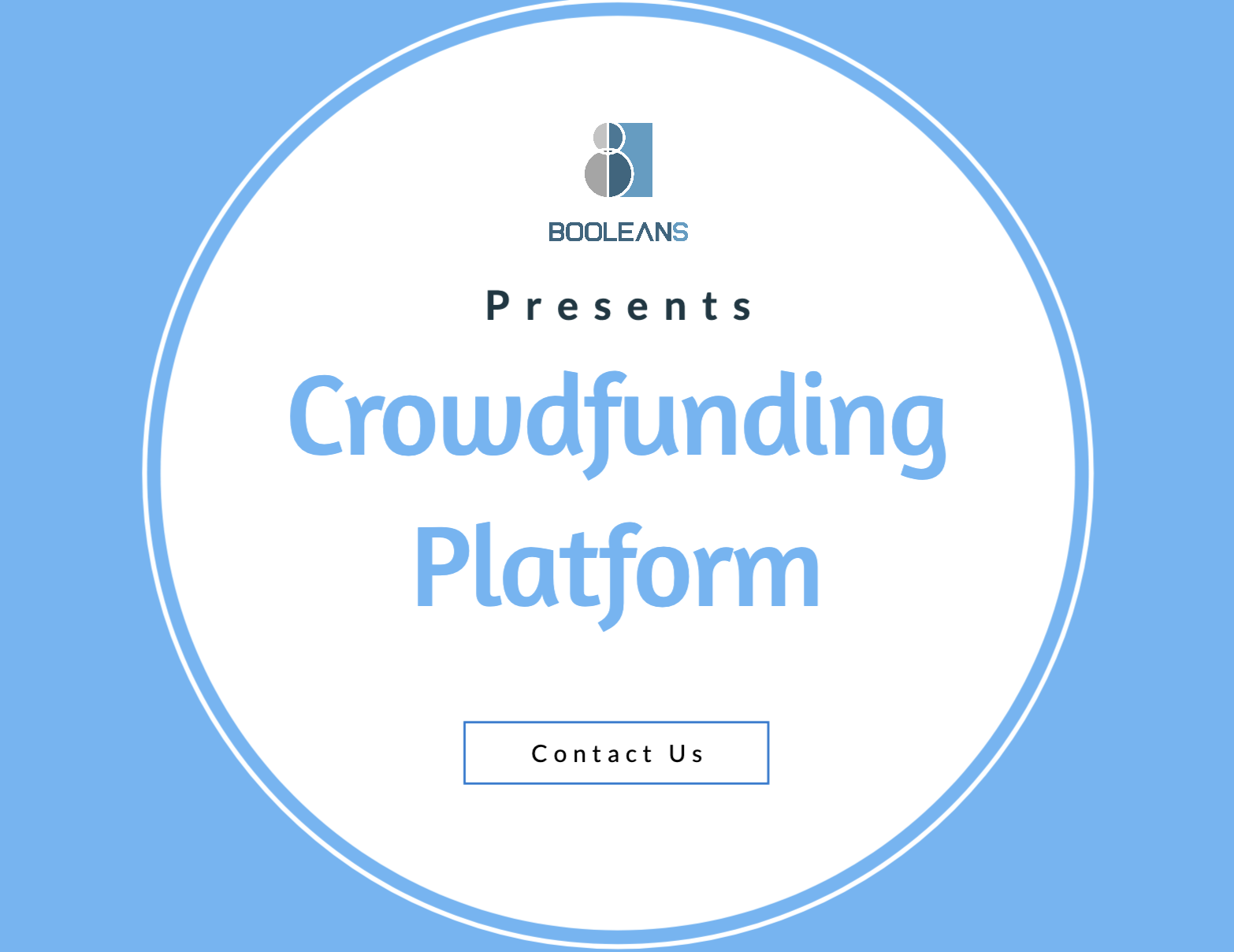Boolean Solutions Crowdfunding Platform